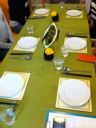 料理教室・・・シンガポール料理「海南チキンライスなど♪」_f0141419_08234949.jpg