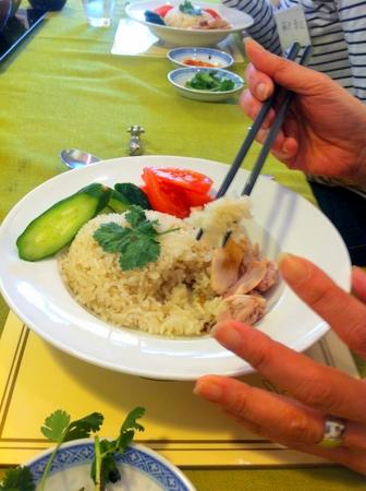 料理教室・・・シンガポール料理「海南チキンライスなど♪」_f0141419_08244162.jpg