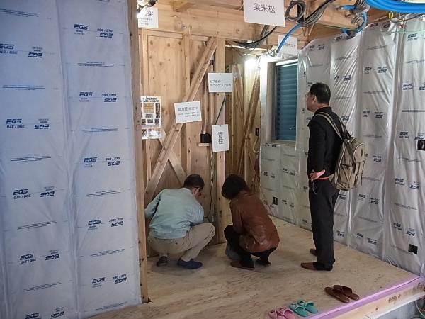 「板橋の家」構造見学会終了しました。_c0019551_20244067.jpg