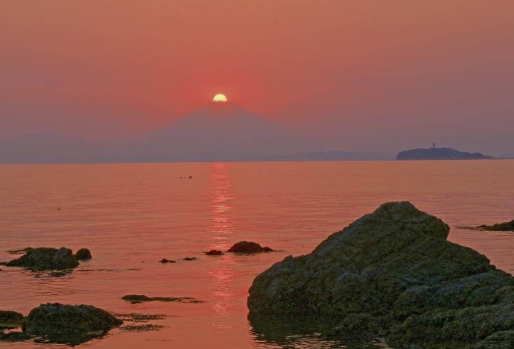 三浦半島ダイヤモンド富士_a0150260_1415939.jpg