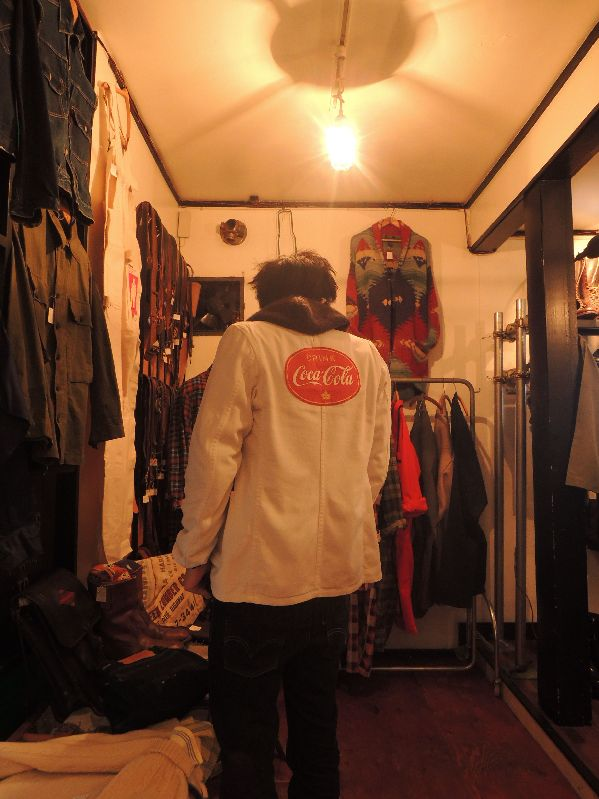 40S ROOSTER BRAND TAILORED JACKET-COCA・COLA---RECOMMEND--_c0176867_13455326.jpg