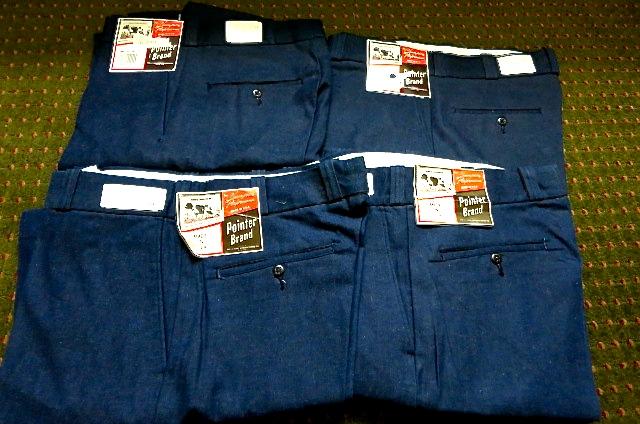 アメリカ仕入れ情報#30デッドストック大量 発見! 70\'S~Pointer Brand  Denim Pants !_c0144020_10143923.jpg