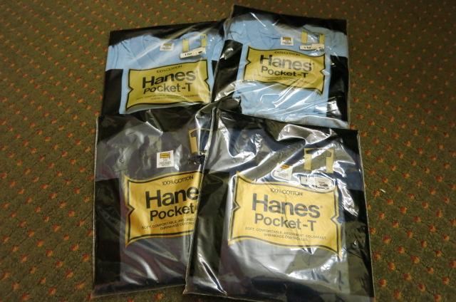 アメリカ仕入れ情報#23デッドストック大量 発見!HANES   pockt T-shirts!_c0144020_922457.jpg