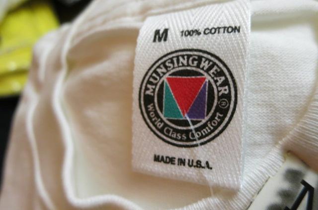 アメリカ仕入れ情報#24 デッドストック大量 発見!MUNSHING WEAR  pocket T-shirts!_c0144020_9253075.jpg