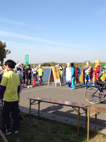 彩湖で初☆フルマラソン♪_b0203925_1425921.jpg