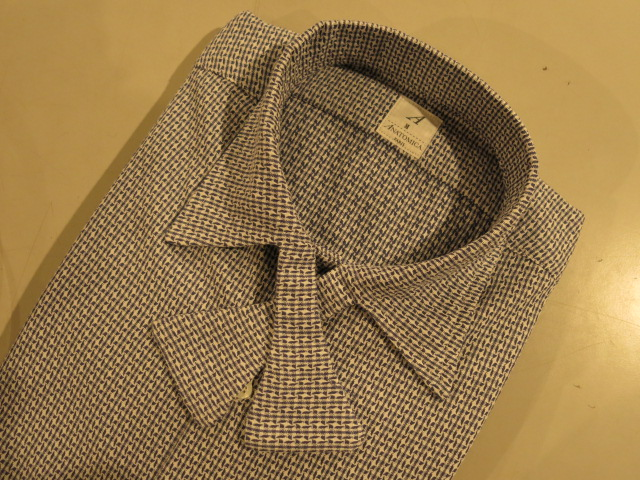 """ANATOMICA WEEKEND SHIRT SOMELOS/ORDER\""ってこんなこと。_c0140560_11151274.jpg"