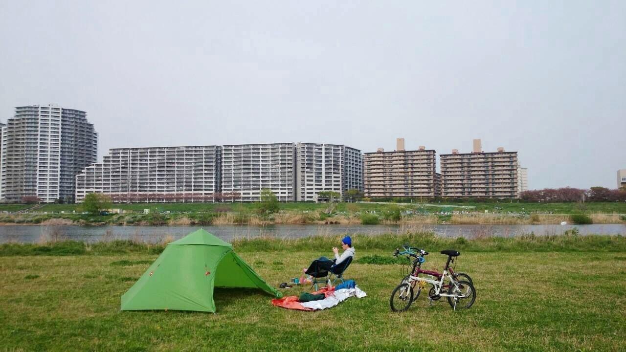 山に行く準備 ~春の多摩川ピクニック~_b0219778_2344970.jpg