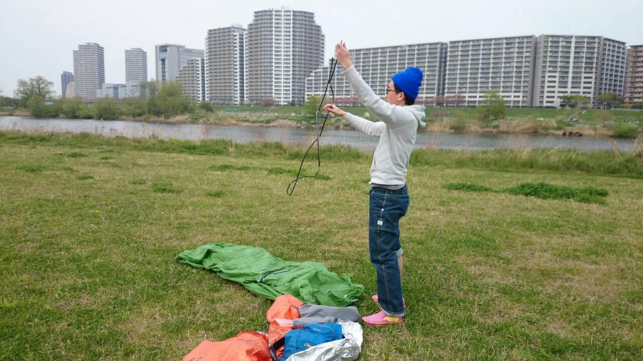 山に行く準備 ~春の多摩川ピクニック~_b0219778_23454776.jpg