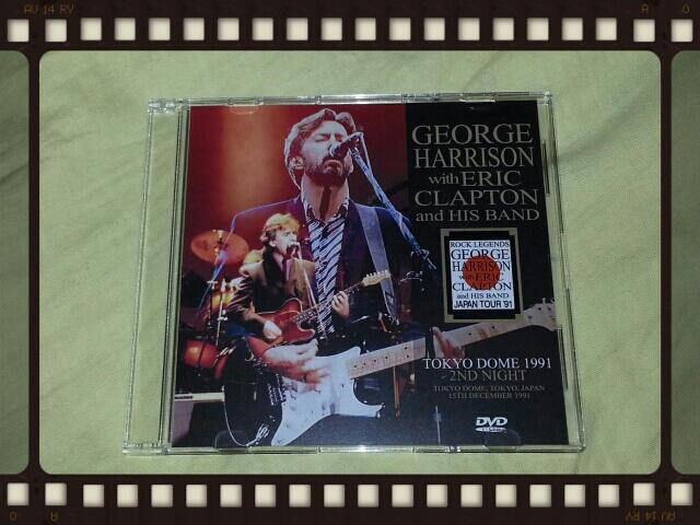 GEORGE HARRISON & ERIC CLAPTON  / FRONT ROW_b0042308_02162.jpg