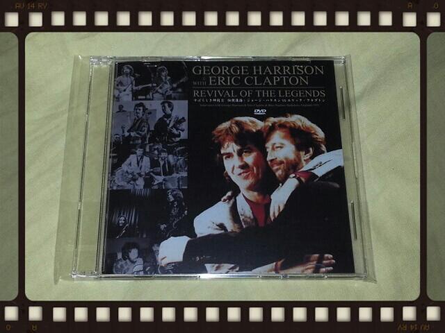 GEORGE HARRISON & ERIC CLAPTON  / FRONT ROW_b0042308_0721.jpg