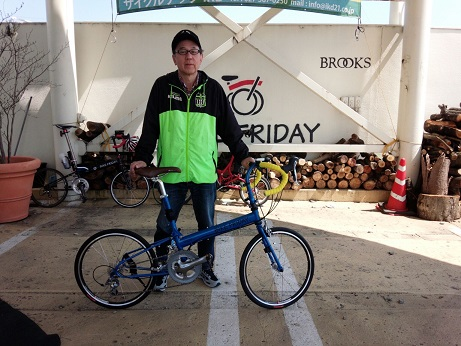 納車 Bike Friday_d0147944_16414067.jpg