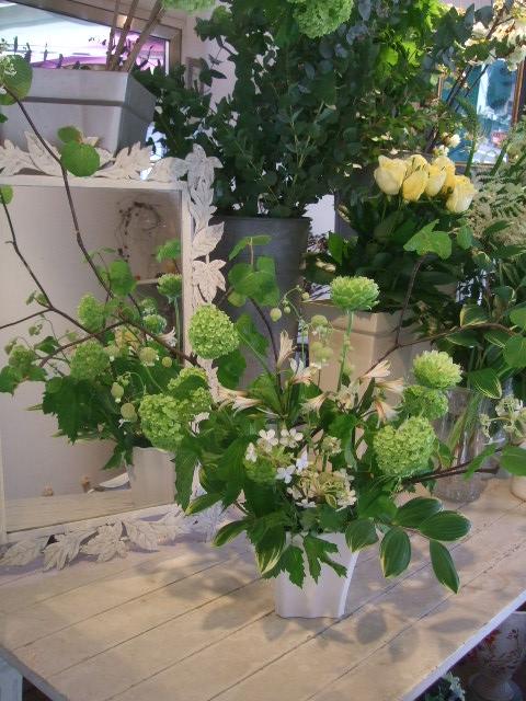 オークリーフ花の教室(赤地さんと宮原さんの作品)_f0049672_173395.jpg