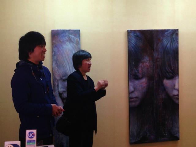 <手話通訳つき>ギャラリーツアーを開催しました_a0277483_1641087.jpg