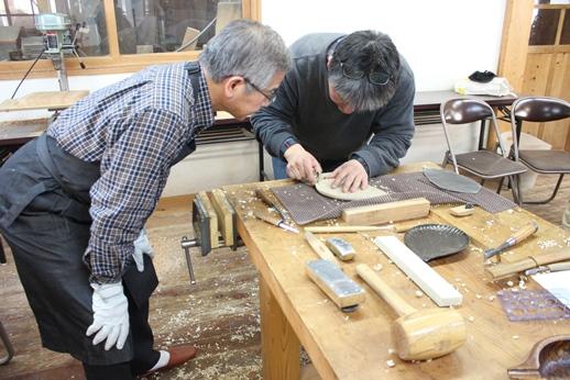 木彫りの器講座終了しました。_f0227395_14483115.jpg