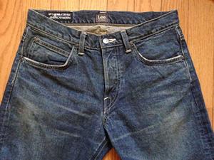 初めてLeeのジーンズを買った!_b0194208_12113457.jpg