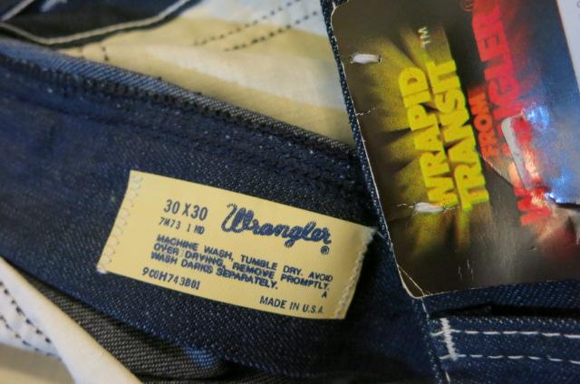アメリカ仕入れ情報#34 デッドストック 70'S〜 Wranglerペインターパンツ!_c0144020_956531.jpg