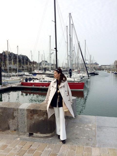 パリ~マラケシュ通信2014春 その8 ノルマンディドーヴィルの華麗なビーチ_a0138976_11403013.jpg