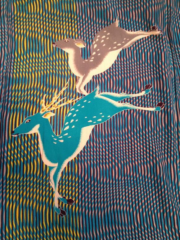 明日より開催!「今昔きもの市」広告掲載商品♪珍しい鹿図着物!販売商品27_c0321302_8534178.jpg