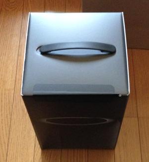 黒い小さなゴミ箱がやっと届いた!_b0194208_10321125.jpg