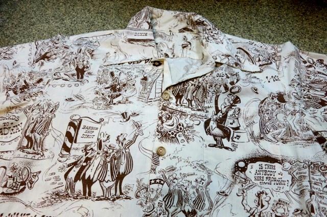 アメリカ仕入れ情報#47 70'S Cartoon print shirts!_c0144020_12362893.jpg