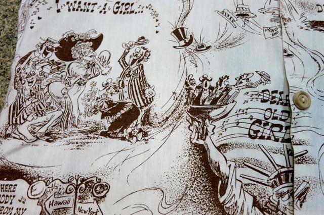 アメリカ仕入れ情報#47 70'S Cartoon print shirts!_c0144020_12371063.jpg