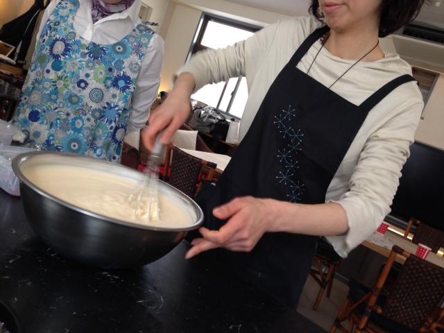 ◎お家でできるフランス菓子〜モンテリマール_a0188925_19561415.jpg