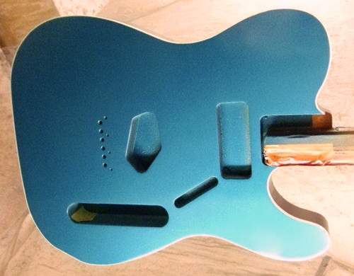 吉原さんオーダーの「Moderncaster T #024」を着色。_e0053731_17274260.jpg
