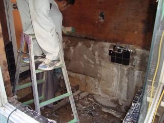 浴室改装工事!_e0190287_20382346.jpg