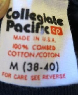 アメリカ仕入れ情報#55  Collegiate Pacific カラーフロッキープリント T-shirts!_c0144020_12473044.jpg