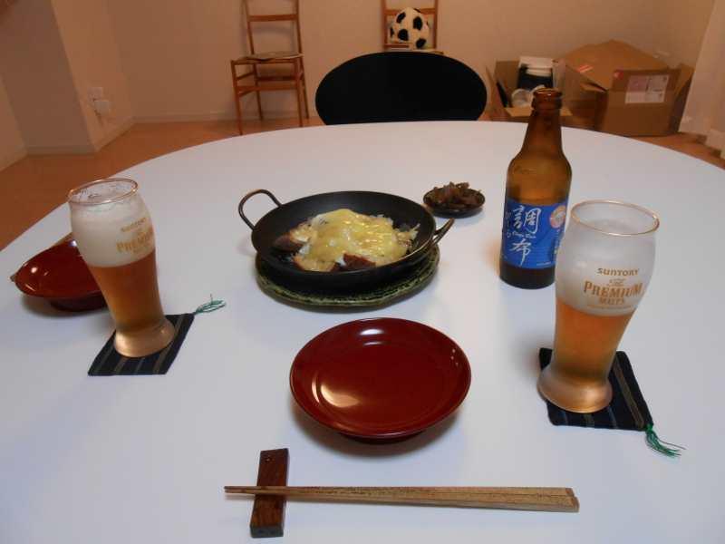 静岡ならではのお土産で夕ご飯。_a0095931_1613370.jpg