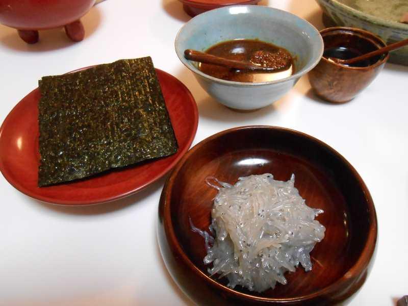 静岡ならではのお土産で夕ご飯。_a0095931_16274962.jpg