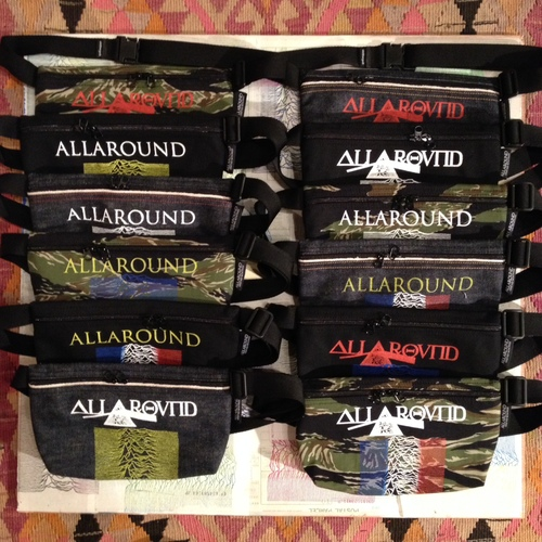 """ALLAROUND x Oh!theGuilt  COLLABORATION (Fac-10 waist pouch)\""""additional production\"""" _f0126931_15133297.jpg"""
