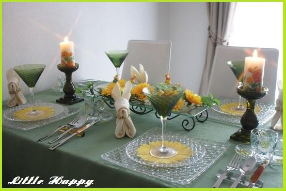 Easterテーブルコーディネート_d0269651_22124924.jpg