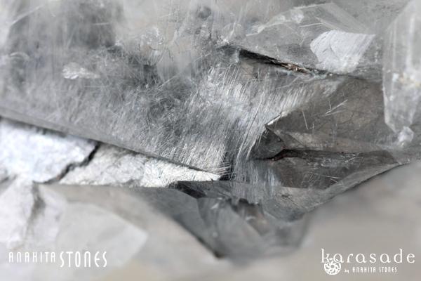 プラチナジャカレー水晶原石(ブラジル産)_d0303974_17325569.jpg