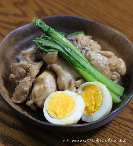 ポークステーキ ☆ 鶏のさっぱり煮♪_c0139375_1225568.jpg