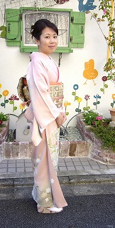入学式ママの着物姿_a0123703_9532456.jpg