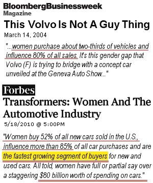 アメリカでは購買決定の85%は女性が決める?! 米国の女性マーケティングの現状_b0007805_239322.jpg