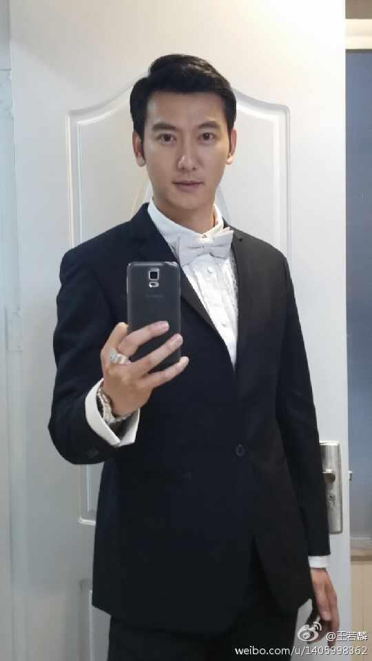 Rain「露水紅顔」 共演者 王若麟さんからのアップ_c0047605_7392630.jpg