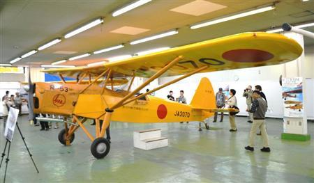 「日本航空機産業の宝」を修復 戦後国産機で最古「R-53」「R-HM」立川で公開_b0064113_952133.jpg