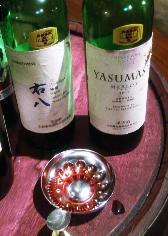 ワインカーブで飲みまくる/山梨県へこりとっぷ(2)_d0214541_10292599.jpg