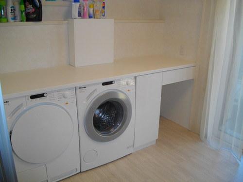 洗濯機をBuilt in する_a0155290_1330760.jpg