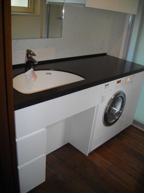 洗濯機をBuilt in する_a0155290_13352432.jpg