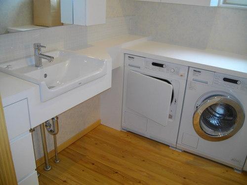 洗濯機をBuilt in する_a0155290_13394325.jpg
