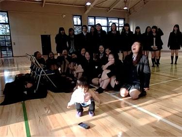 生徒chanの踊り納めで、パワーチャージ! (一加も激しくダンスw)_d0224894_2002579.jpg