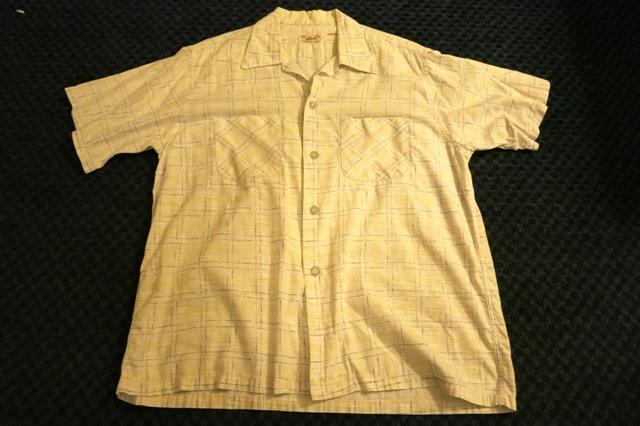 アメリカ仕入れ情報#57 50'S オープンカラーシャツ!_c0144020_1181975.jpg