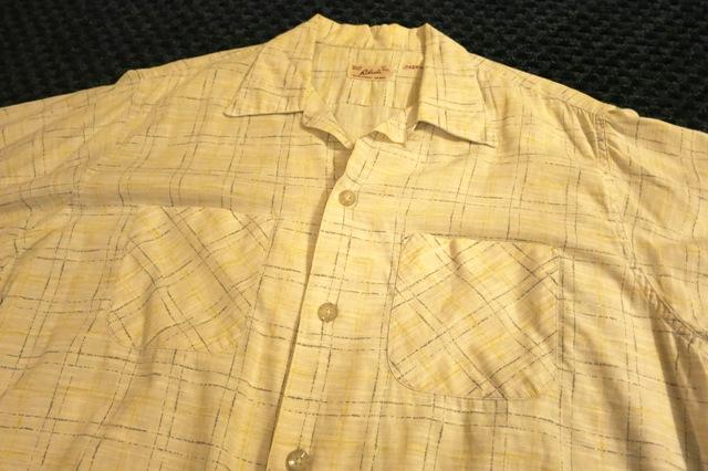 アメリカ仕入れ情報#57 50'S オープンカラーシャツ!_c0144020_1182841.jpg