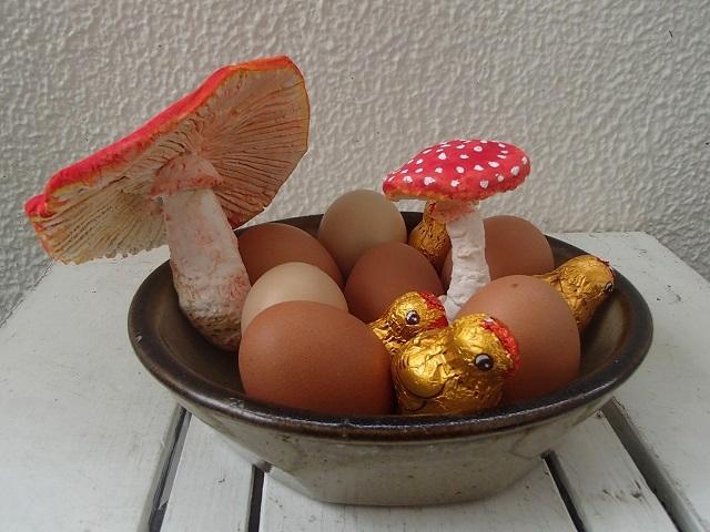 Happy Easter!!  (4月20日 & キノコ 編)_d0105967_1712959.jpg