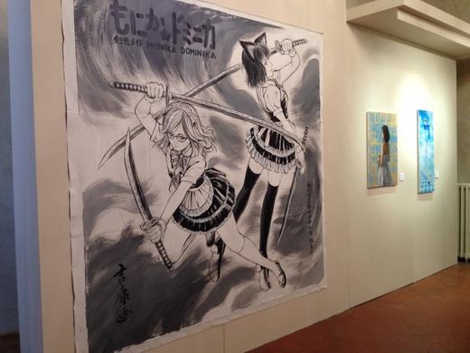 18/04/2014  漫画家田村吉康展@メディチ・リッカルディ宮_a0136671_4271675.jpg