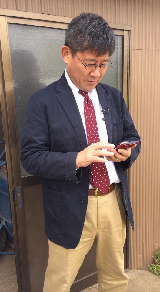 平成26年4月16日 TBS 報道特集 千葉県富津ロケ。_a0154482_1258859.jpg