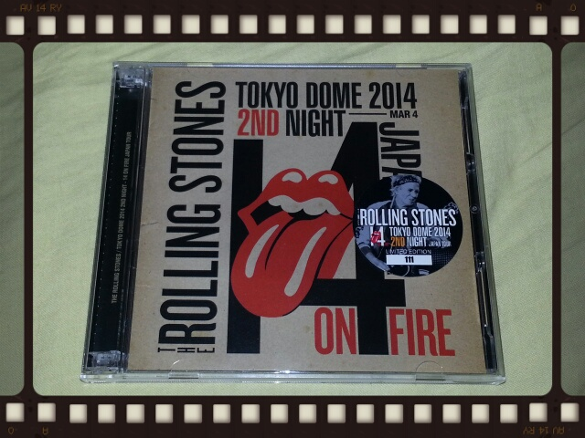 THE ROLLING STONES / TOKYO DOME 2014 2ND NIGHT_b0042308_2320254.jpg